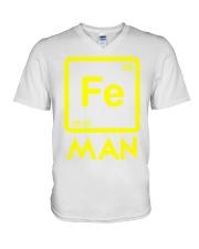 Fe Man V-Neck T-Shirt tile
