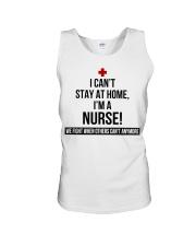 I Cant Stay At Home Im A Nurse -242U1A1NUR03079 Unisex Tank thumbnail