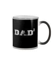 DAD2 Two Kids- Father of Two T-Shirt Color Changing Mug thumbnail