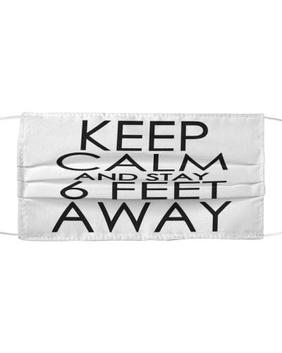 Keep calm and stay 6 feet away