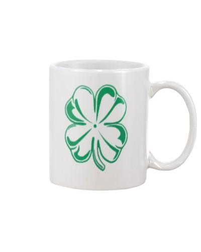 Clover St Patricks Day Womens Top Coffee Mug 11oz
