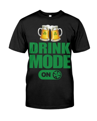 St Patricks day  Drink mode
