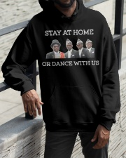 Stay at home or dance with us Hooded Sweatshirt apparel-hooded-sweatshirt-lifestyle-front-11