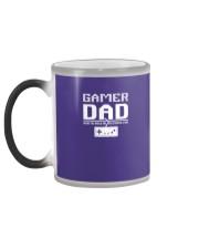 Classic 8 Bit Gamer Dad Vintage Video Game Gift Sh Color Changing Mug color-changing-left