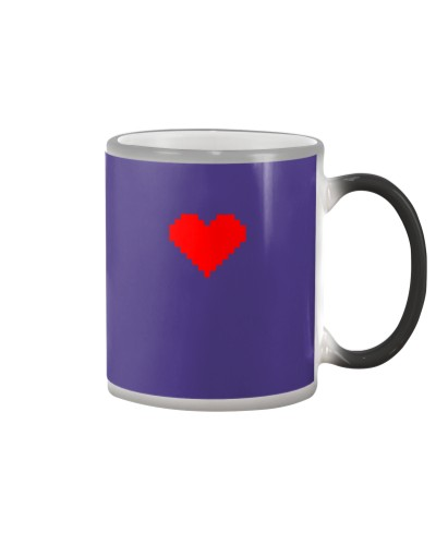 Pixel Heart Red 42