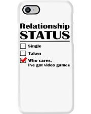 Relationship Status Video Games Phone Case thumbnail