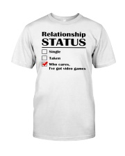 Relationship Status Video Games Classic T-Shirt thumbnail