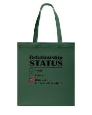 Relationship Status Video Games Tote Bag thumbnail