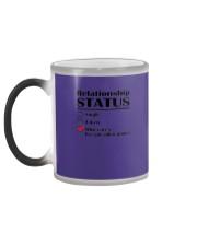 Relationship Status Video Games Color Changing Mug color-changing-left