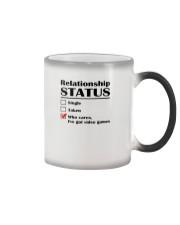 Relationship Status Video Games Color Changing Mug thumbnail