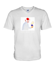 Another Bad Hair Day 67 V-Neck T-Shirt thumbnail
