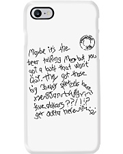 Maybe Its The Beer Talking Phone Case thumbnail