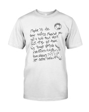 Maybe Its The Beer Talking Classic T-Shirt thumbnail