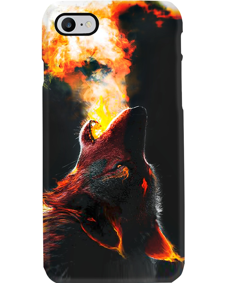 I LOVE WOLF Phone Case