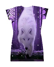 I LOVE WOLF All-over Dress back
