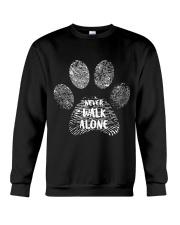 I LOVE DOG Crewneck Sweatshirt thumbnail
