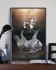 I LOVE WOLF 11x17 Poster lifestyle-poster-2
