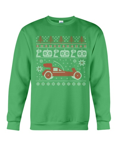 Vintage RC buggy Ugly X-Mas Sweater