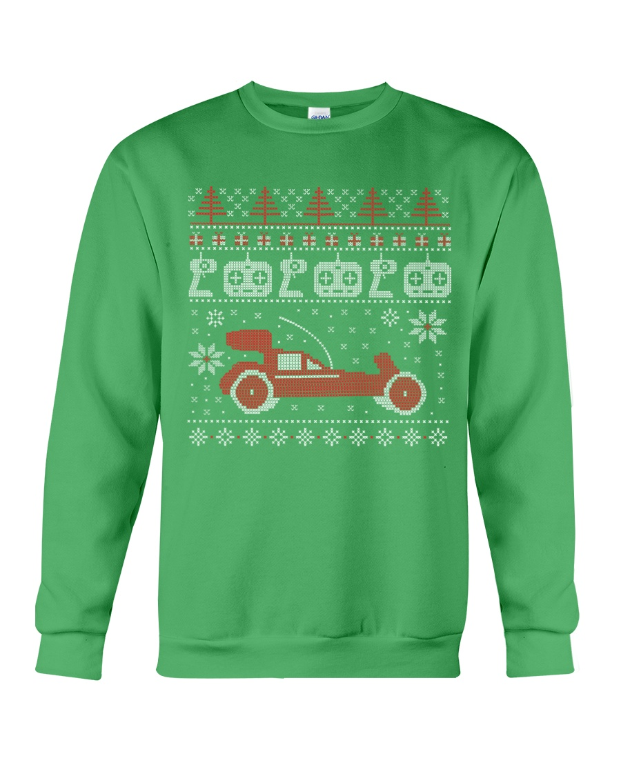 Vintage RC buggy Ugly X-Mas Sweater Crewneck Sweatshirt
