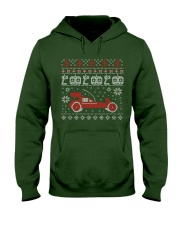 Vintage RC buggy Ugly X-Mas Sweater Hooded Sweatshirt tile