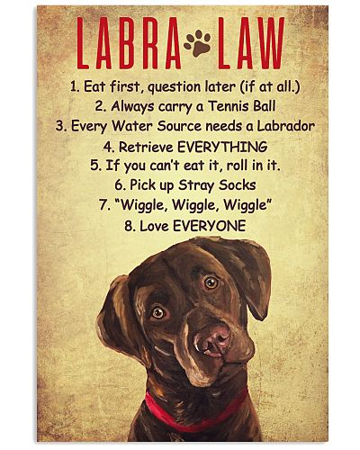 LIMITED EDITION LABRA LAW