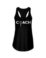 Tennis Player Coach Gift Ladies Flowy Tank thumbnail