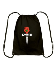Hunter S Thompson Gonzo Shirt Drawstring Bag thumbnail
