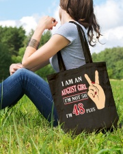 I Am An August Girl Im Not 50 Im 48 Plus 2 Tote Bag lifestyle-totebag-front-6