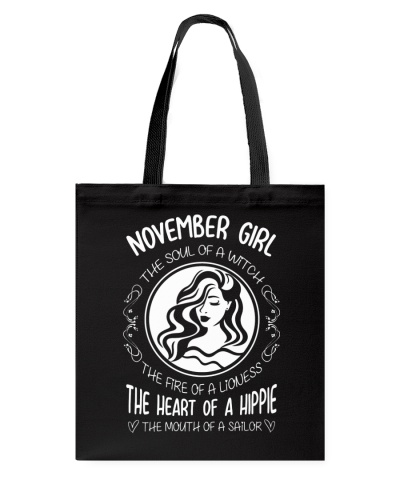 NOVEMBER GIRL THE SOUL OF A WITCH