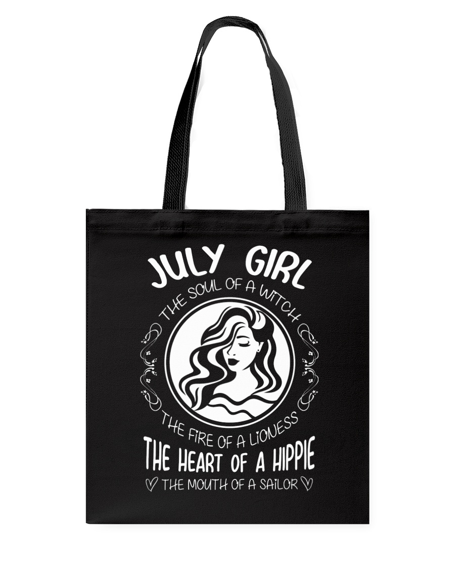 JULY GIRL THE SOUL OF A WITCH Tote Bag