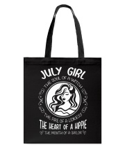 JULY GIRL THE SOUL OF A WITCH Tote Bag front