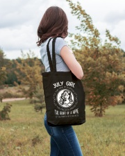 JULY GIRL THE SOUL OF A WITCH Tote Bag lifestyle-totebag-front-3