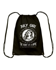 JULY GIRL THE SOUL OF A WITCH Drawstring Bag thumbnail
