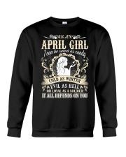 AS AN APRIL GIRL I CAN BE SWEET AS CANDY  Crewneck Sweatshirt thumbnail