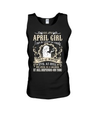 AS AN APRIL GIRL I CAN BE SWEET AS CANDY  Unisex Tank thumbnail