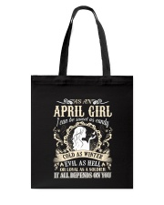 AS AN APRIL GIRL I CAN BE SWEET AS CANDY  Tote Bag thumbnail
