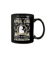 AS AN APRIL GIRL I CAN BE SWEET AS CANDY  Mug thumbnail