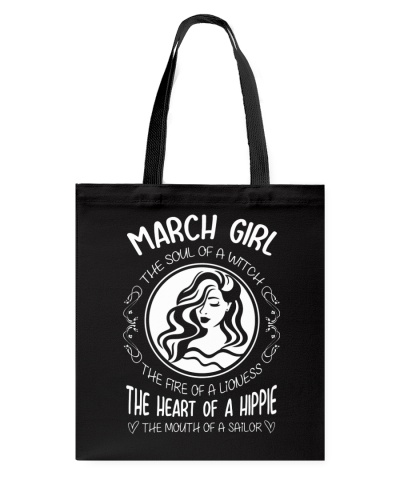 MARCH GIRL THE SOUL OF A WITCH