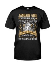 JANUARY GIRL T-SHIRT WOMENS BIRTHDAY GIFTS Premium Fit Mens Tee thumbnail