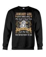 JANUARY GIRL T-SHIRT WOMENS BIRTHDAY GIFTS Crewneck Sweatshirt thumbnail