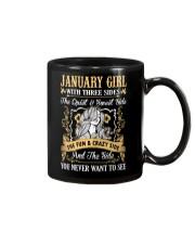 JANUARY GIRL T-SHIRT WOMENS BIRTHDAY GIFTS Mug thumbnail