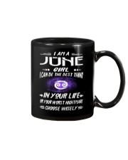 JUNE GIRL BEST OR WORST CHOOSE WISELY Mug thumbnail