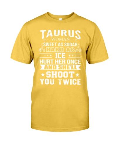 TAURUS WOMAN TSHIRT - TAURUS T SHIRT - BIRTHDAY T-SHIRT