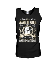 AS A MARCH GIRL I CAN BE SWEET AS CANDY  Unisex Tank thumbnail