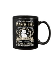 AS A MARCH GIRL I CAN BE SWEET AS CANDY  Mug thumbnail