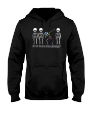 DARE TO BE YOUR SELF Hooded Sweatshirt thumbnail
