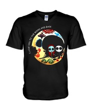 I LOVE YOU TO THE MOON AND BACK V-Neck T-Shirt thumbnail