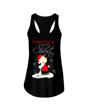 Christmas begin with Christ Ladies Flowy Tank thumbnail