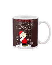 Christmas begin with Christ Mug thumbnail