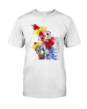 CHICKENS Classic T-Shirt front